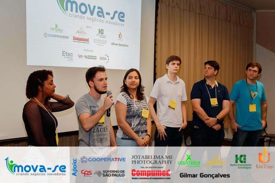 Equipe de mentores do Projeto Mova-se